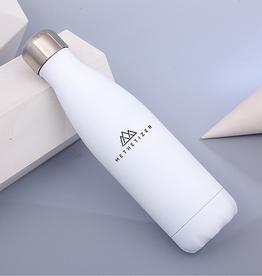 Trinkflasche Shiny White
