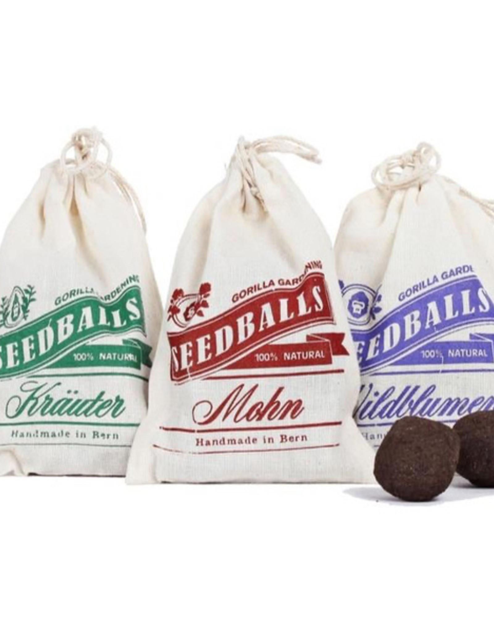 Seedballs 3er-Set - von Gorilla Gardening