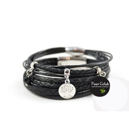 ook-leuk Armbanden set: Deerfield zwart