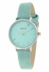 Ernest Ernest horloge Silver-Cindy-Mini SS-19, turquoise