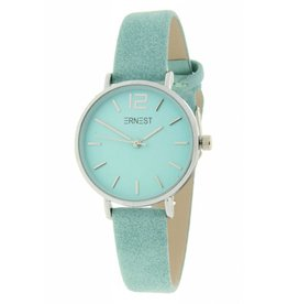 Ernest Ernest horloge Silver-Cindy-Mini  SS-19, turquoise