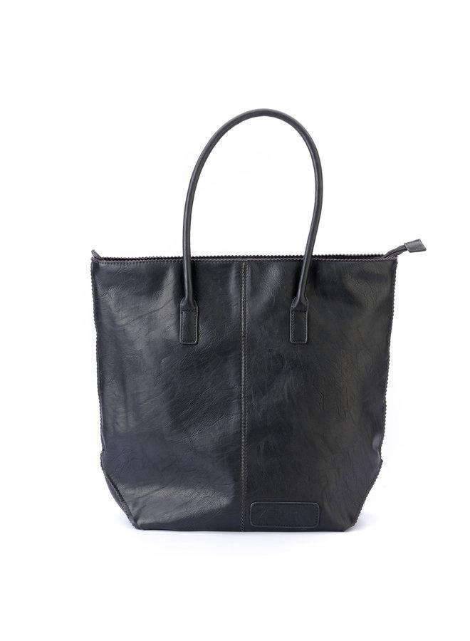 Zebra Trends shopper tas  rits met etui, zwart