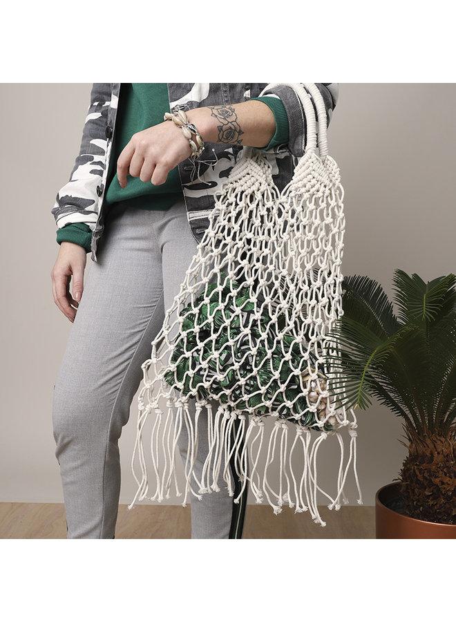 Bag knots, wit