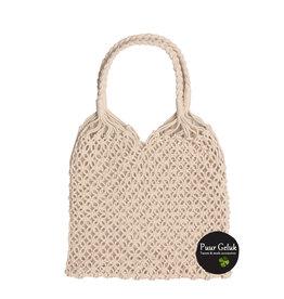 Overige Net tas, white