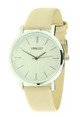 Ernest Ernest horloge silver-Andrea 905, beige