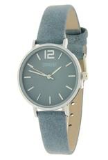 Ernest Ernest horloge Silver-Cindy-Mini SS-19, jeans blauw