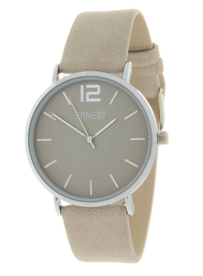 Ernest horloge Silver-Cindy-SS19, beige