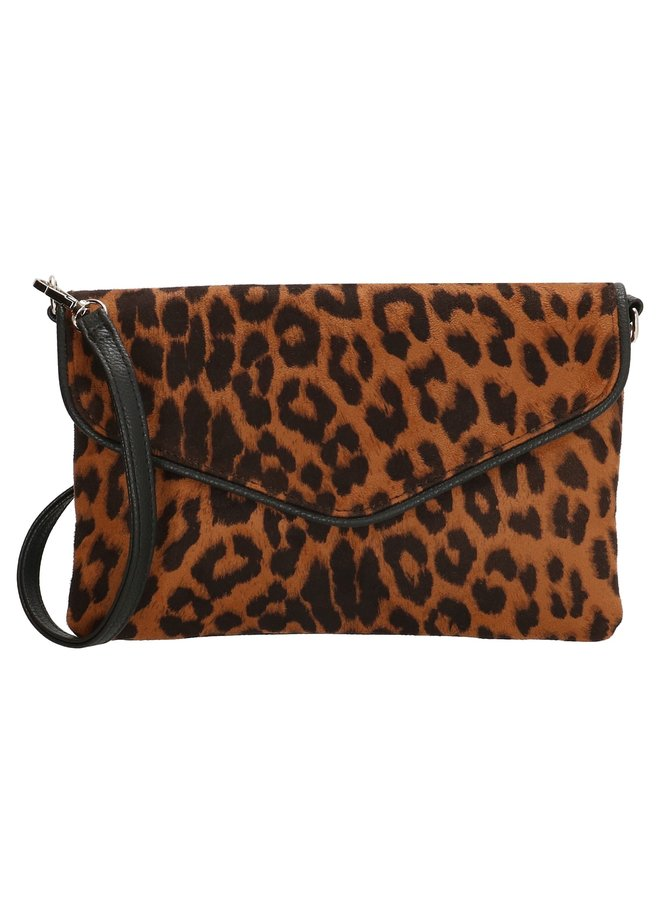 Charm London  clutch / schoudertasje  luipaard