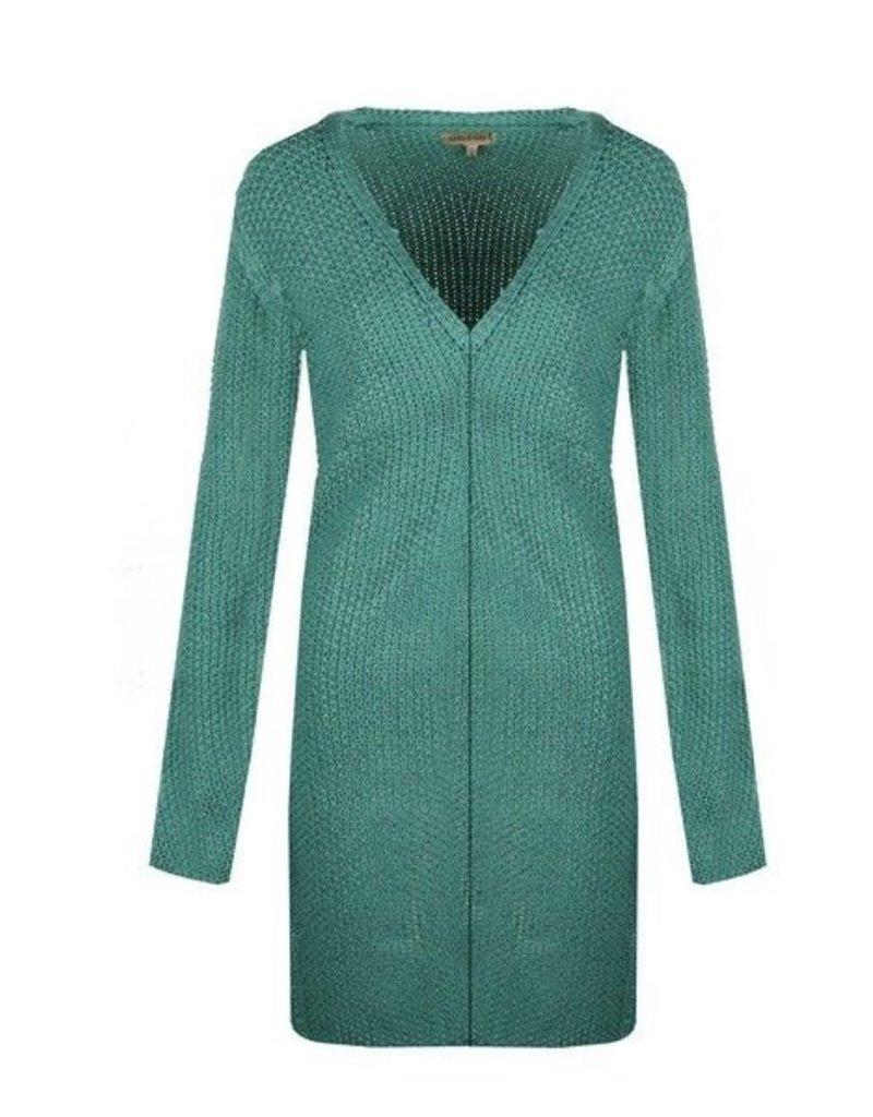 C&S dames vest 19VYD01, mint groen
