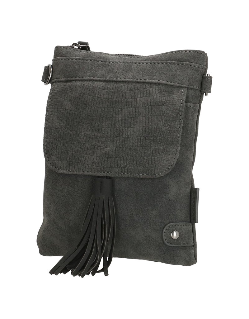 Beagles tassen Beagles Pequeno schoudertasje met klep, zwart