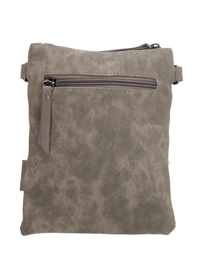 Beagles Pequeno schoudertasje met klep, grijs