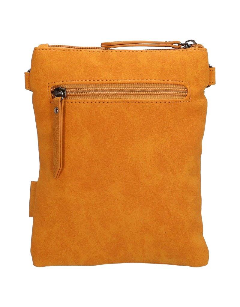 Beagles tassen Beagles Pequeno schoudertasje met klep, geel