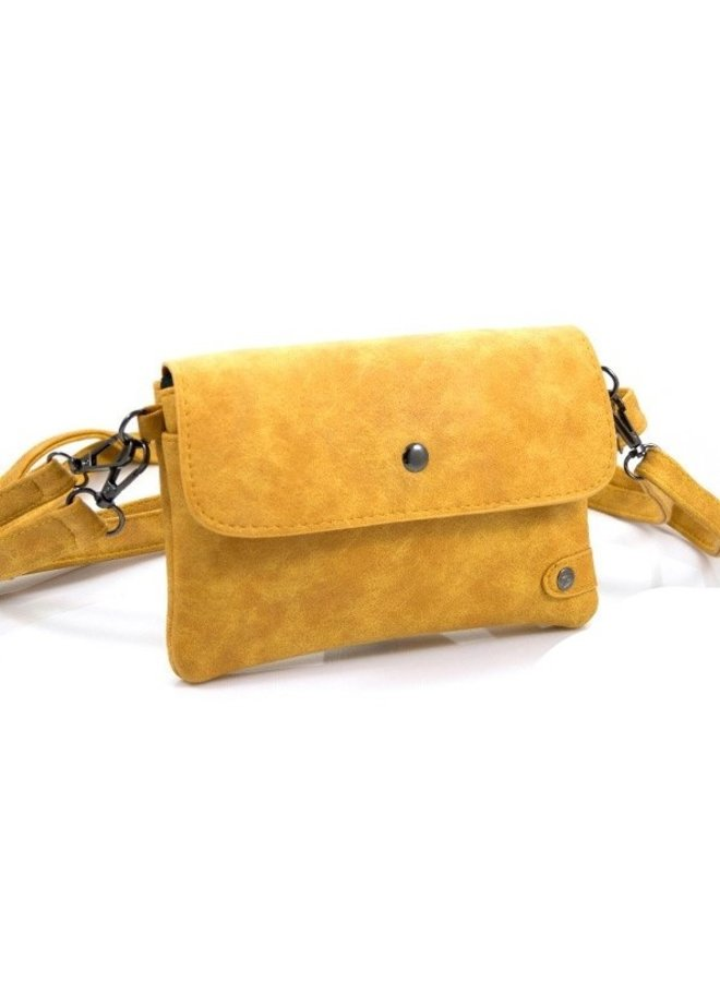 Heuptasje / schoudertasje Hulst, geel
