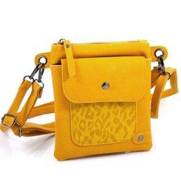 Ook-leuk  Heuptasje / schoudertasje Rijssel, geel