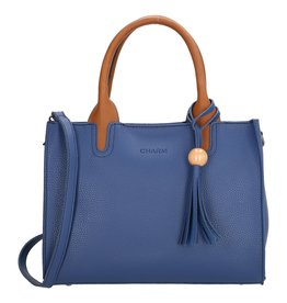 Charm Charm London Covent Garden dames handtas, blauw