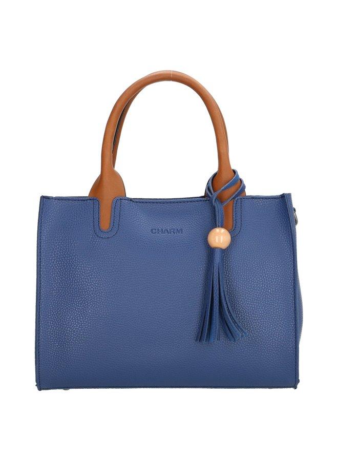 Charm London Covent Garden dames handtas, blauw