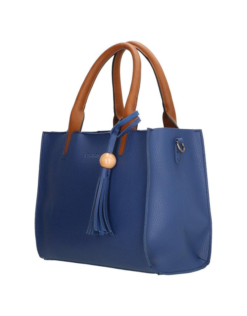 Charm Charm London Covent Garden dames handtas, blauw