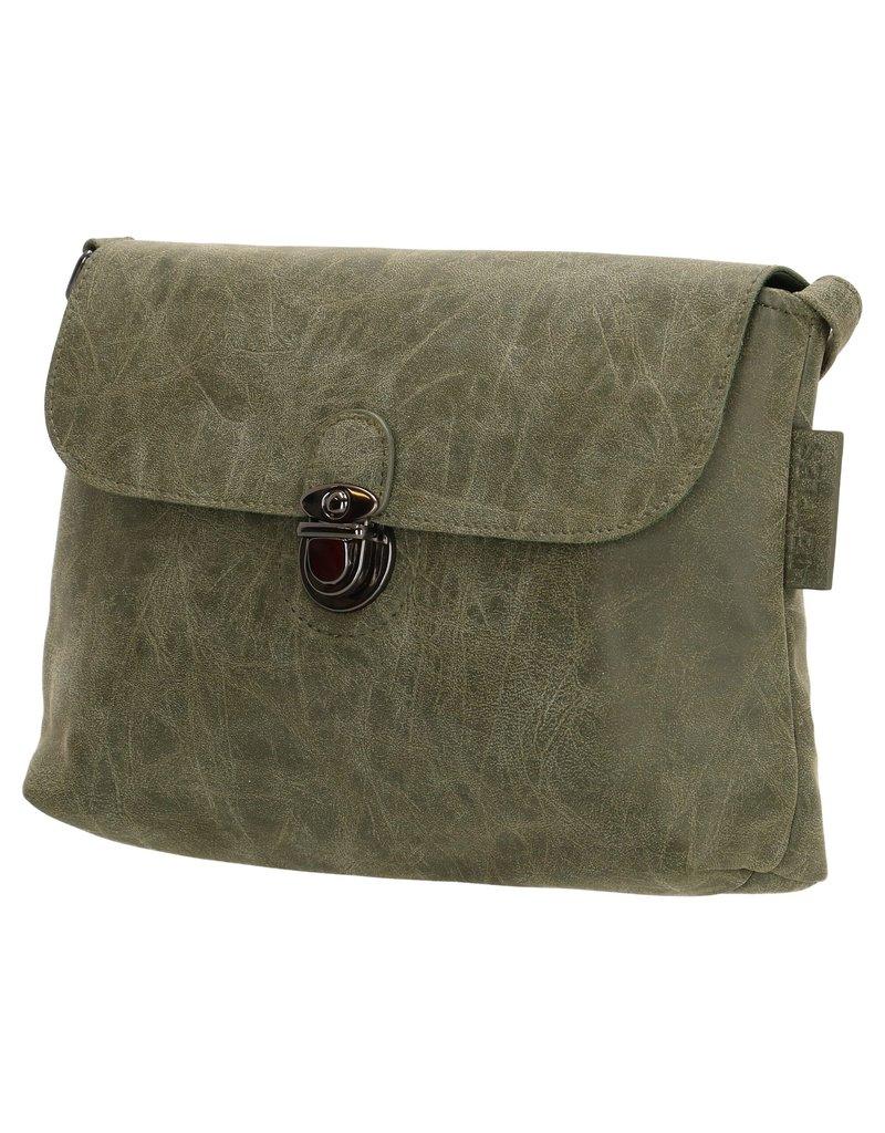 Beagles tassen Crossbody tas / schoudertasje  Ceclavin, Olijf Groen