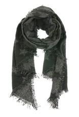 Overige Zachte sjaal met sterren, zwart