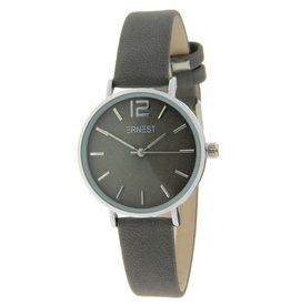 Ernest Ernest dames horloge Silver-Cindy-Mini, grijs