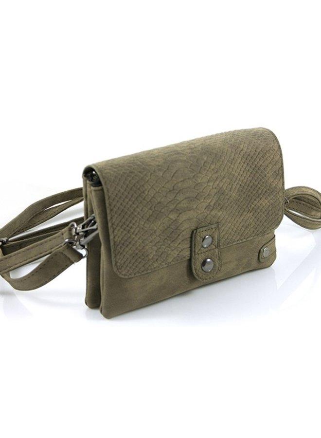 Klein tasje  / klein schoudertasje Ulm, groen