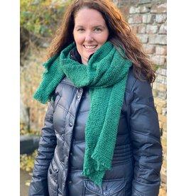 Overige Sjaal effen groen