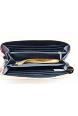 Mandoline Dames portemonnee met voorvak, geel