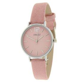 Ernest Ernest horloge Silver-Cindy-Mini, roze
