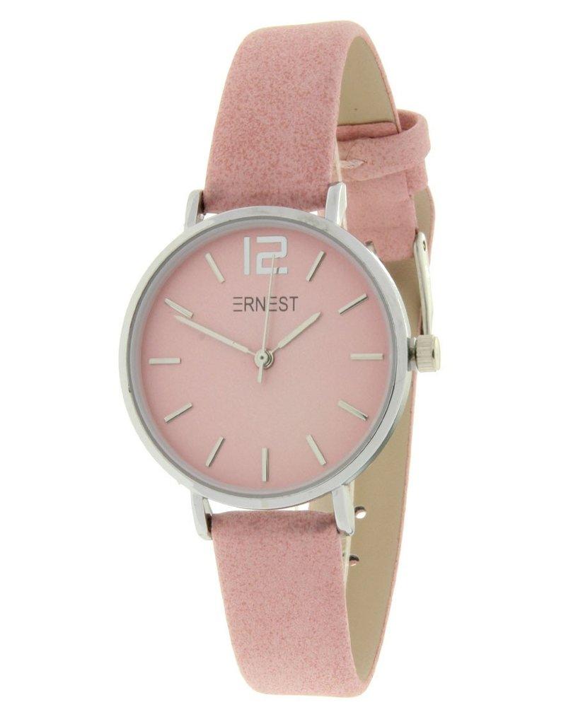 Ernest Ernest horloge Silver-Cindy-Mini , roze
