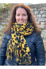 Overige Ultra zachte sjaal in dierenprint