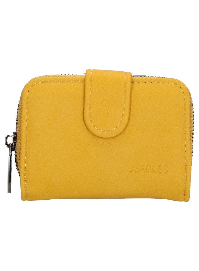 Beagles  kleine portemonnee, geel