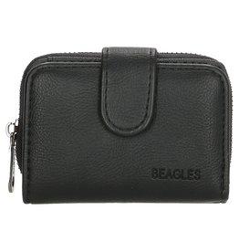 Beagles tassen Beagles  kleine portemonnee, zwart