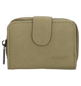 Beagles tassen Beagles  kleine portemonnee, groen