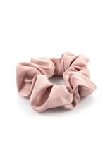 Ook-leuk  Roze effen haarelastiek / scrunchie