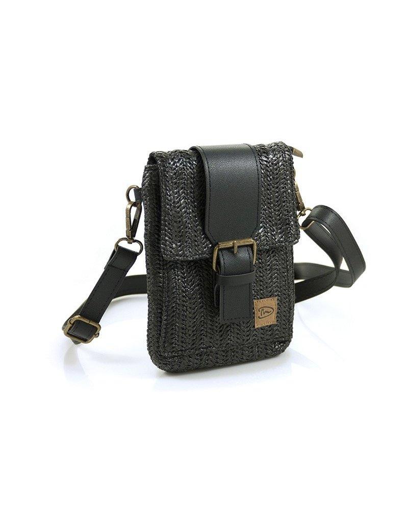 """Ook-leuk  Zwart """"Langkawi"""" schoudertasje"""