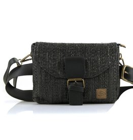 Ook-leuk  Reunion heuptasje / schoudertasje, zwart