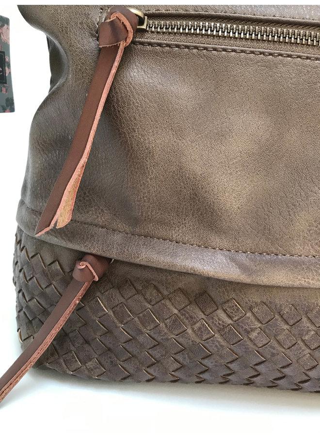 Mandoline tas met voorvak
