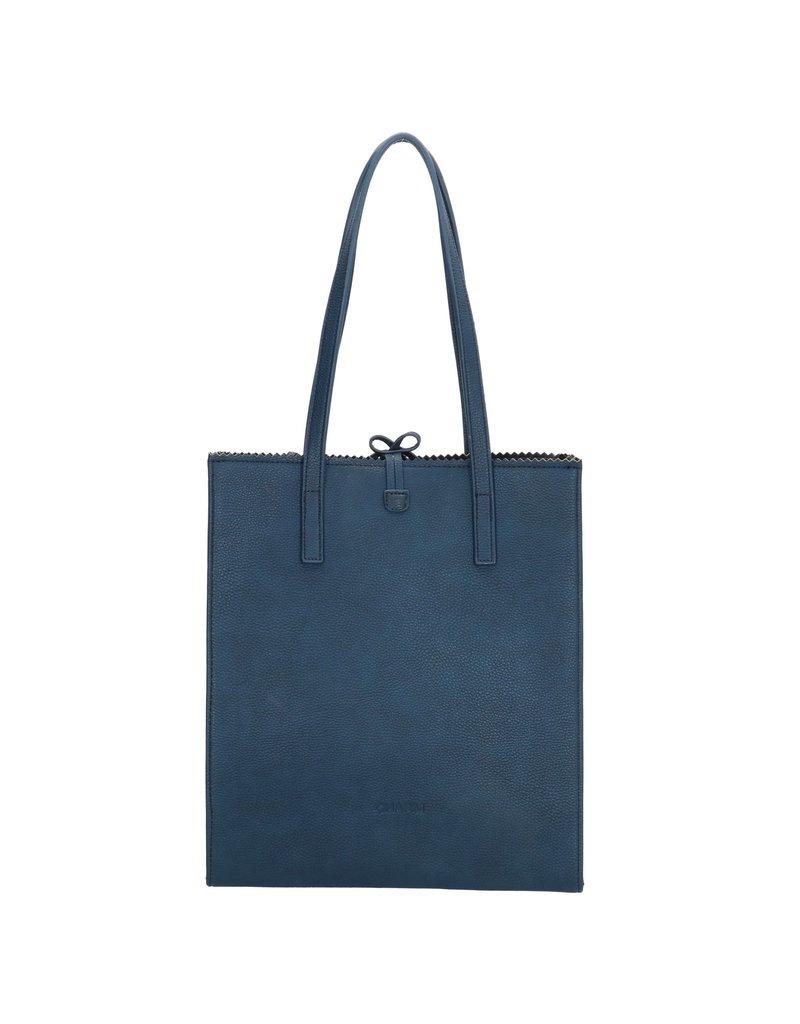 Charm Charm London Camden Town shopper / handtas, blauw