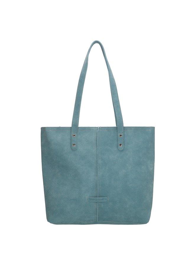 "Enrico Benetti shopper tas / schoudertas ""Sophie"",  jeans blauw"