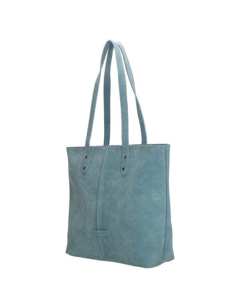 "Enrico Benetti Enrico Benetti shopper tas / schoudertas ""Sophie"",  jeans blauw"