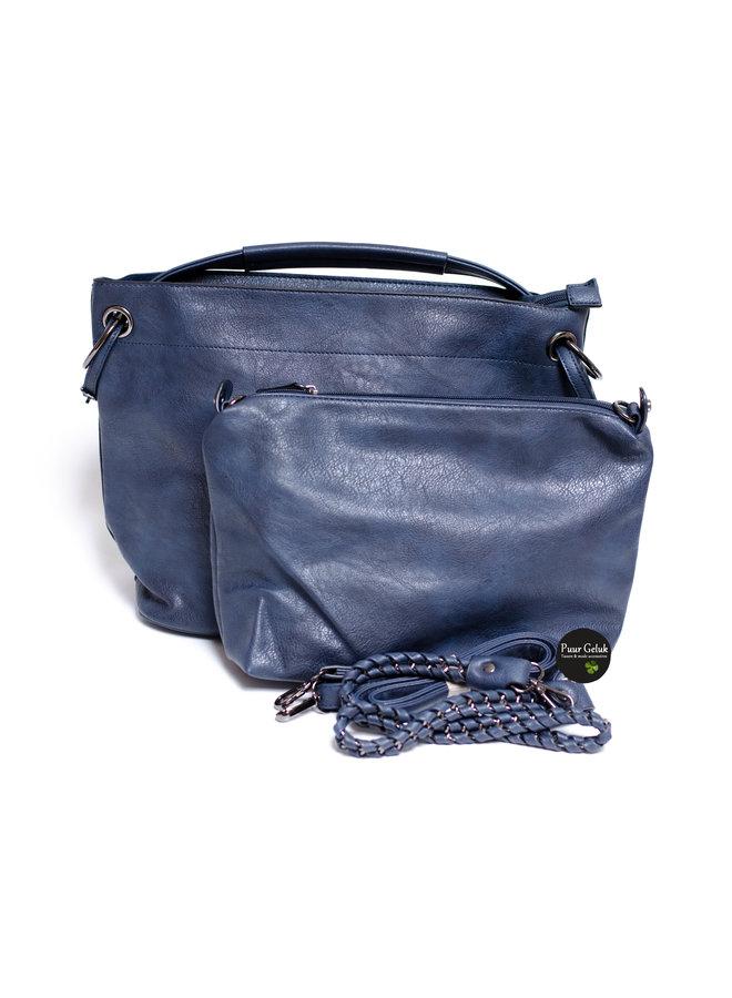 Eternel bag in bag, blauw