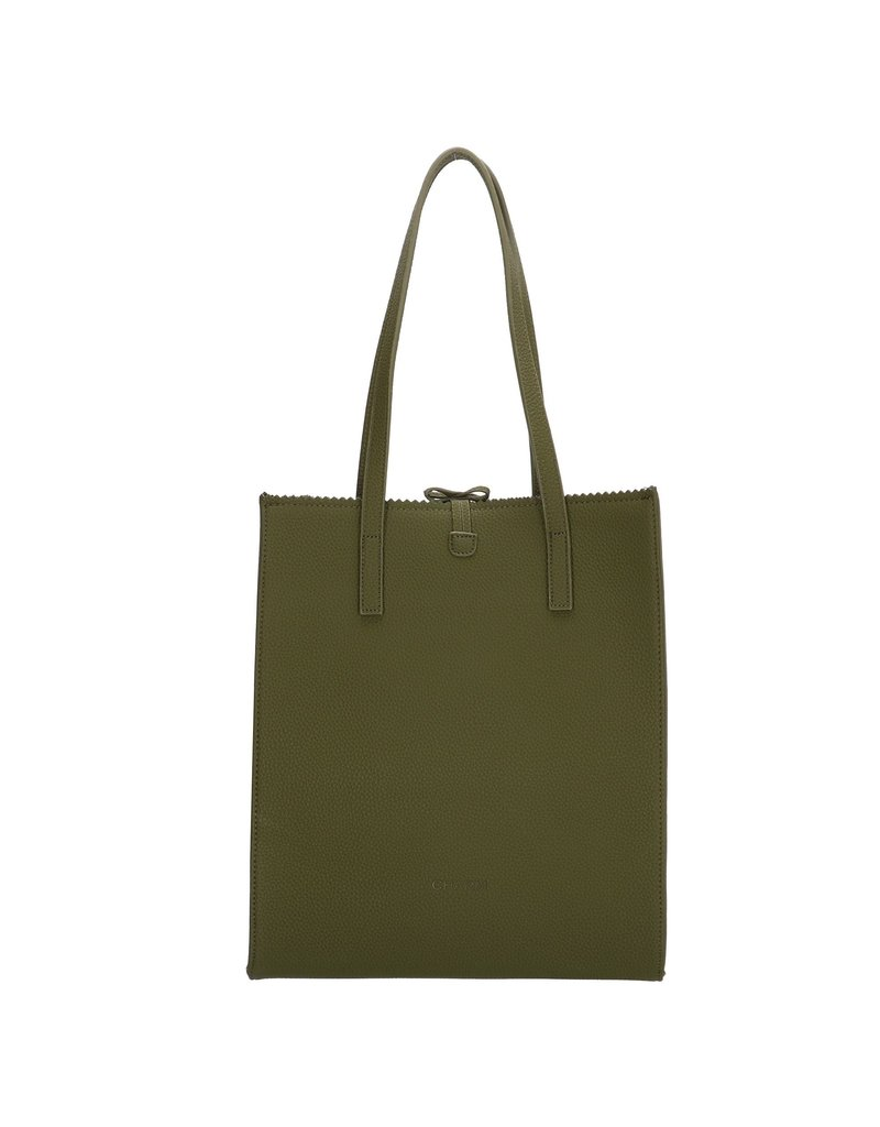 Charm Charm London Camden Town shopper / handtas, olijf groen