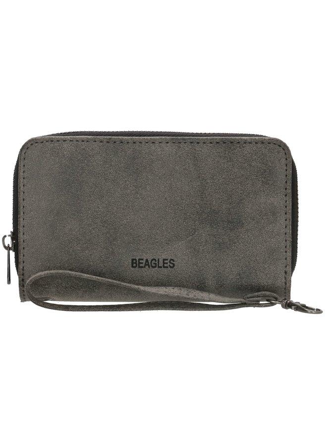 Beagles Meanos dames  portemonnee, zwart