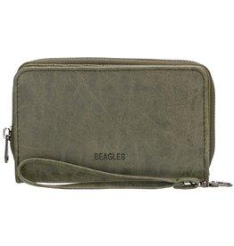 Beagles Beagles Meanos dames  portemonnee, olijf groen