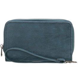 Beagles tassen Beagles Meanos dames  portemonnee, blauw