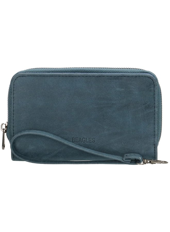 Beagles Meanos dames  portemonnee, blauw