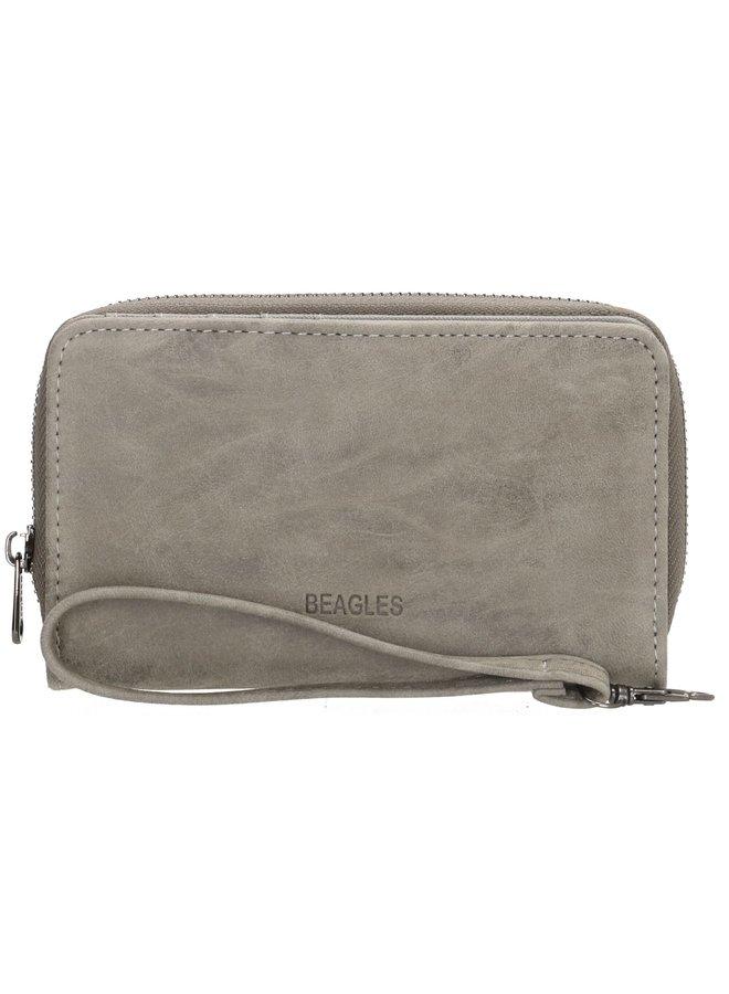 Beagles Meanos dames  portemonnee, grijs