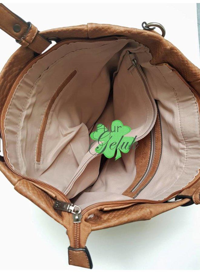 Mandoline  tas met studs, groen