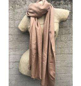 Overige Dames sjaal effen, beige