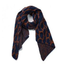 Ook-leuk  Solden sjaal donker blauw